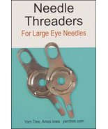 "Jiffy Metal Needle Threader 2/pkg - 1.75"" long ... - $3.00"