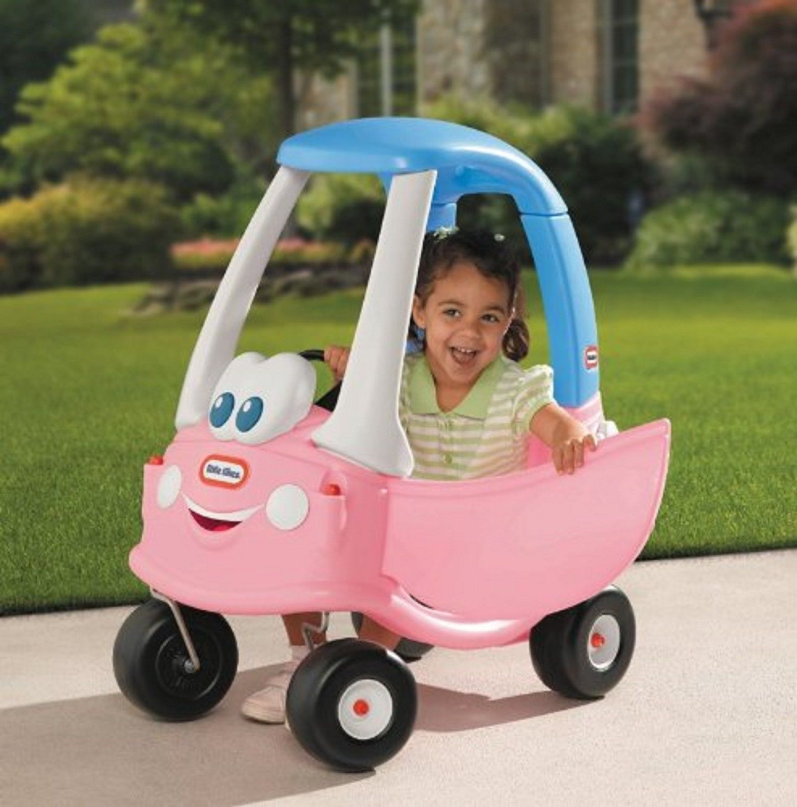 little tikes princess cozy coupe 30th anniversary girls play car kids pink ride 1970 now. Black Bedroom Furniture Sets. Home Design Ideas