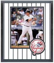 Brian McCann 2014 New York Yankees - 11 x 14 Team Logo Matted/Framed Photo - $43.55