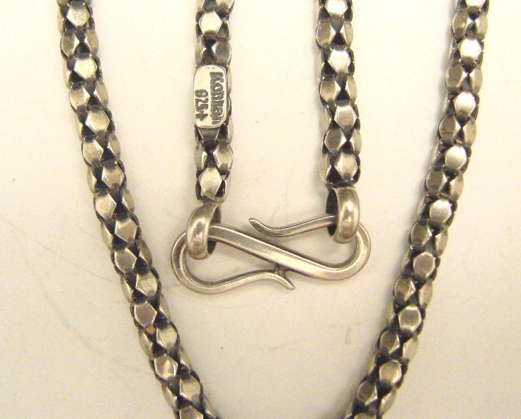 FANCY LINK STERLING CHAIN