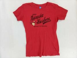 NCAA by KA Inc. Nebraska Red Huskers Short Sleeve T-Shirt Women's Size M - $10.40