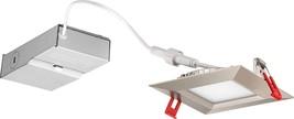 Lithonia Lighting WF4 SQ B LED 27K BN M6 10.4W Ultra Thin Square Dimmabl... - $923,88 MXN
