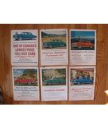 Set of 6 ads for Studebaker bullet nose models - $3.99