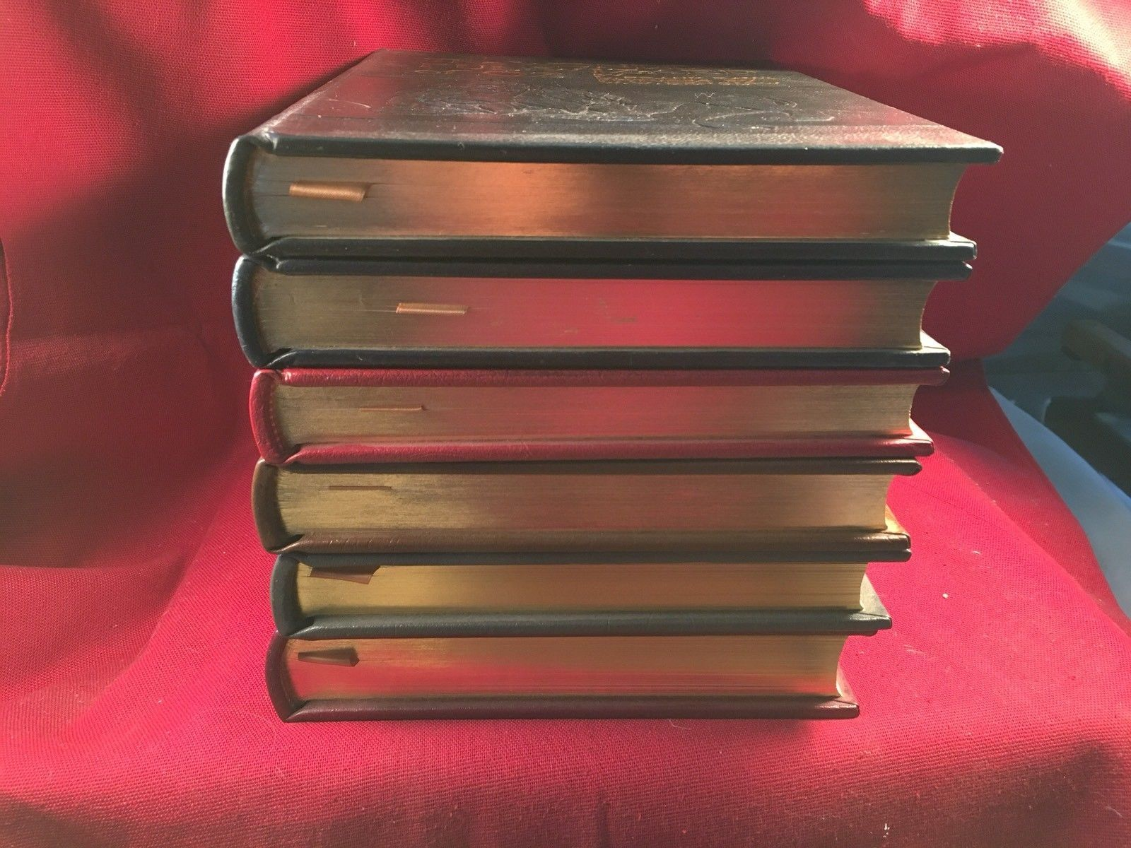 EASTON PRESS 6 Volume Set- L. Frank Baum