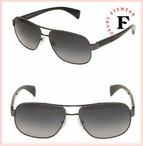 PRADA PR52PS Timeless Conceptual Black Gunmetal POLARIZED Sunglasses SPR... - $292.05