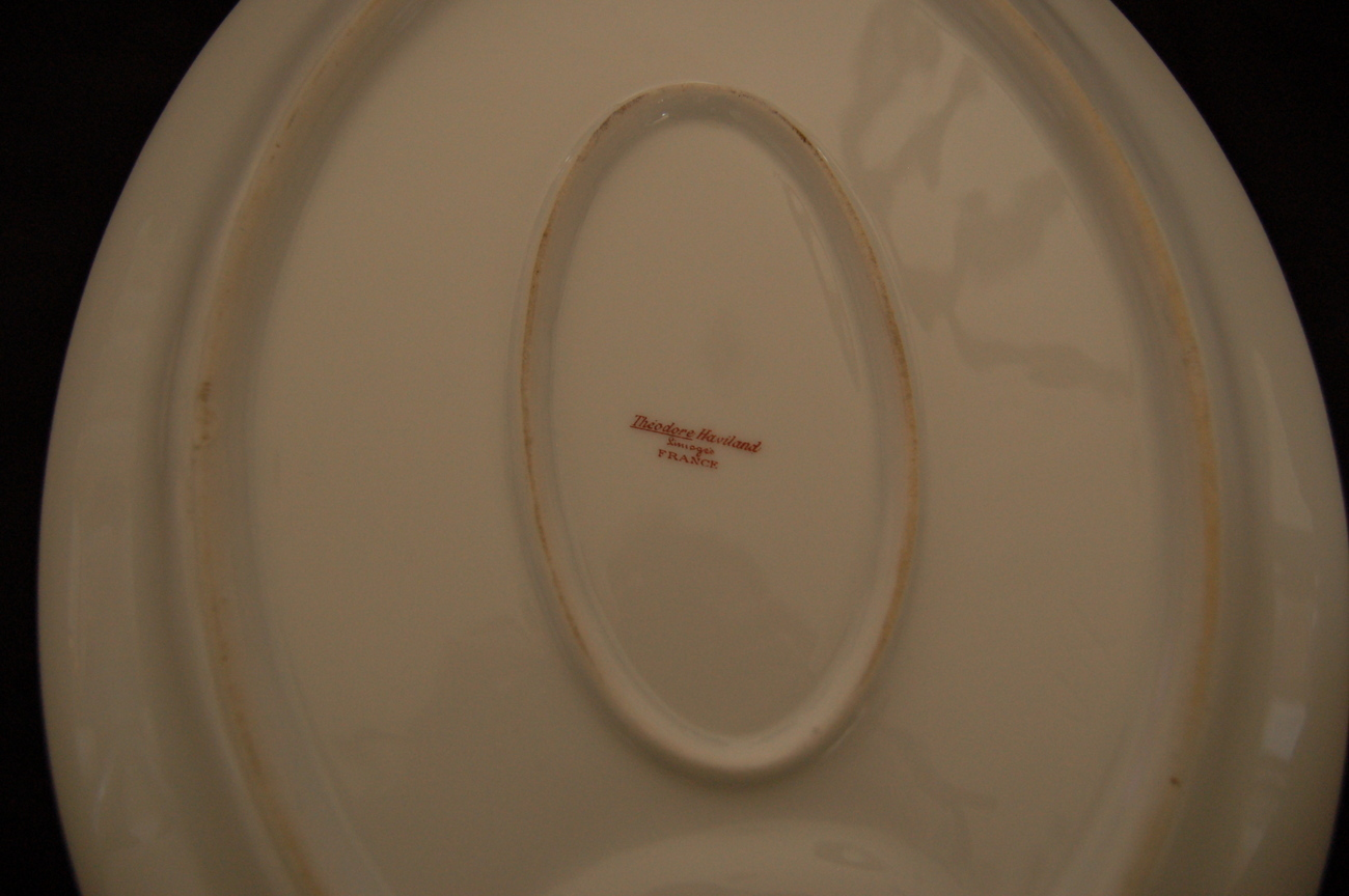 Theo Haviland France Schleiger 346A Large Platter w/ Well