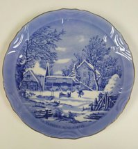 The Farmers Home-Winter Currier & Ives Plate - $14.95