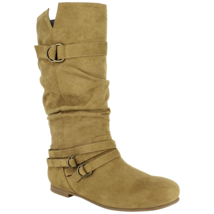 Women's Dolce Jussie Slouch Boot Camel Size 7.5 #NJZVH-618 - $39.99