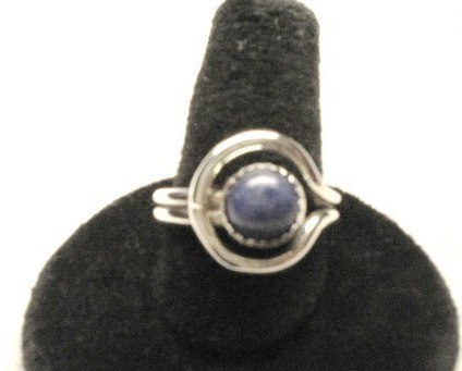Shanrocks Sodalite Strling Silver Ring