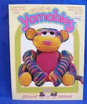 Vintage Crochet Me Yarnables Crochet Pattern Stuffed Toy Animal Max - $9.95