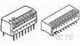 435802-9 AMP DIP Switches / SIP Switches 8 POSITION SIDE ACT SLD TE CONNECT - $1.27