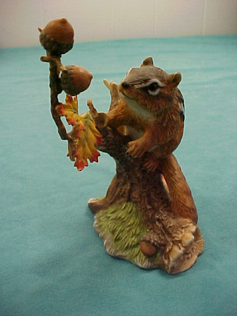 Lenox WOODLAND ANIMALS Chipmunk Figurine 1991
