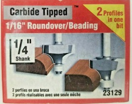Vermont American Roundover/Beading Carbide Tipped Router Bits New Multiple Sizes - $8.09+