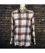 Eddie Bauer Women's Tall Stine's Favorite Packable Shirt Plaid Button Do... - $25.73