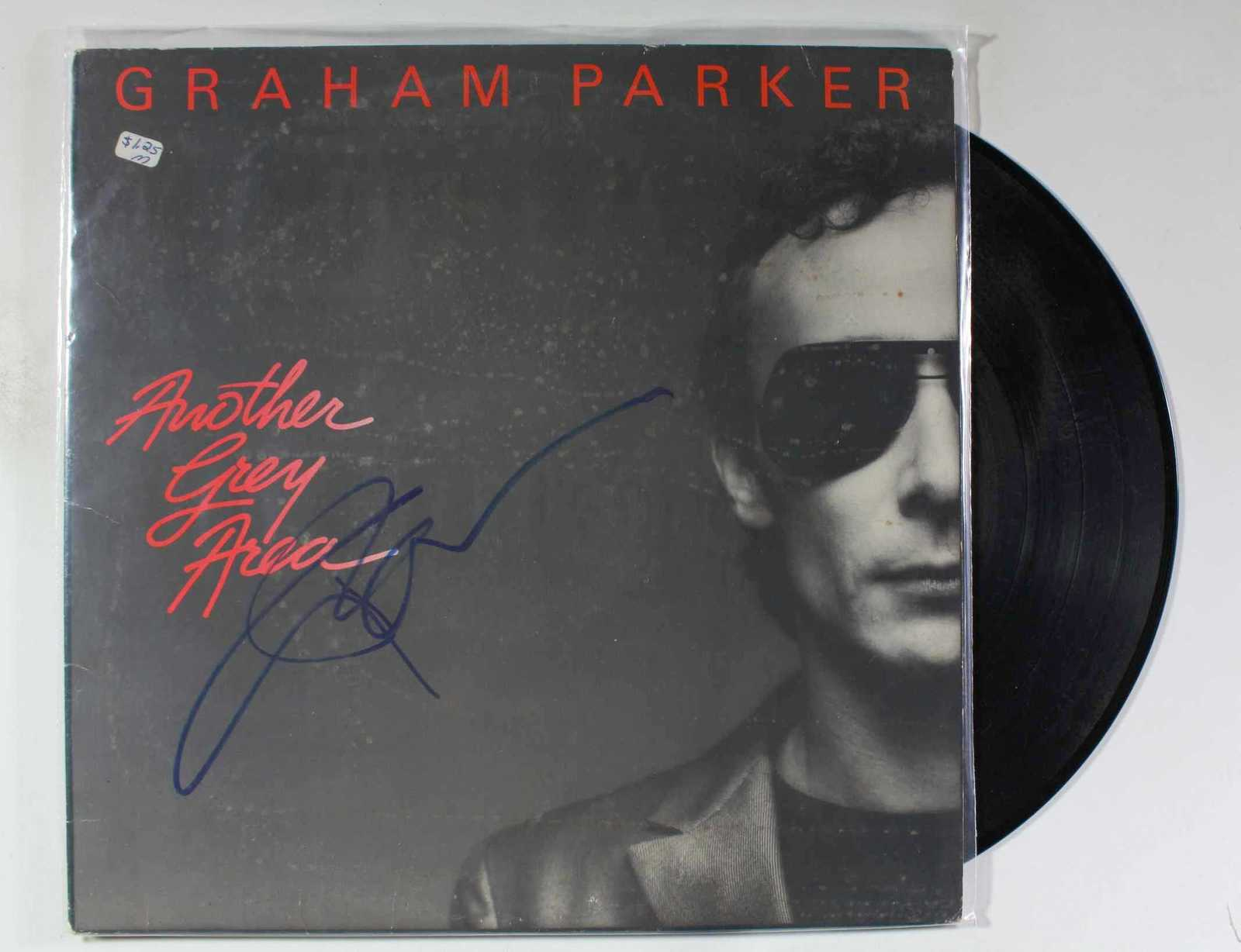 Primary image for Graham Parker Signed Autographed Record Album