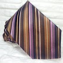 Luxury necktie silk Made in Italy business weddings men's ties Morgana b... - $26.55