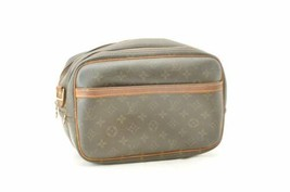 LOUIS VUITTON Monogram Reporter PM Shoulder Bag M45254 LV Auth cr290 JUNK - $210.00