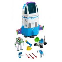 Buzz Lightyear Space Command Spaceship Playset Disney Pixar Figure Kids Toy - $84.45