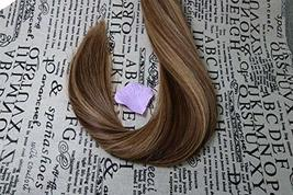 """20"""" Tape in Extensions Remy Human Hair Extensions Brazilian Remy Hair Glue in Re image 5"""