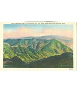 Clingmans Dome, The Great Smoky Mountains National Park, unused linen Po... - $4.99