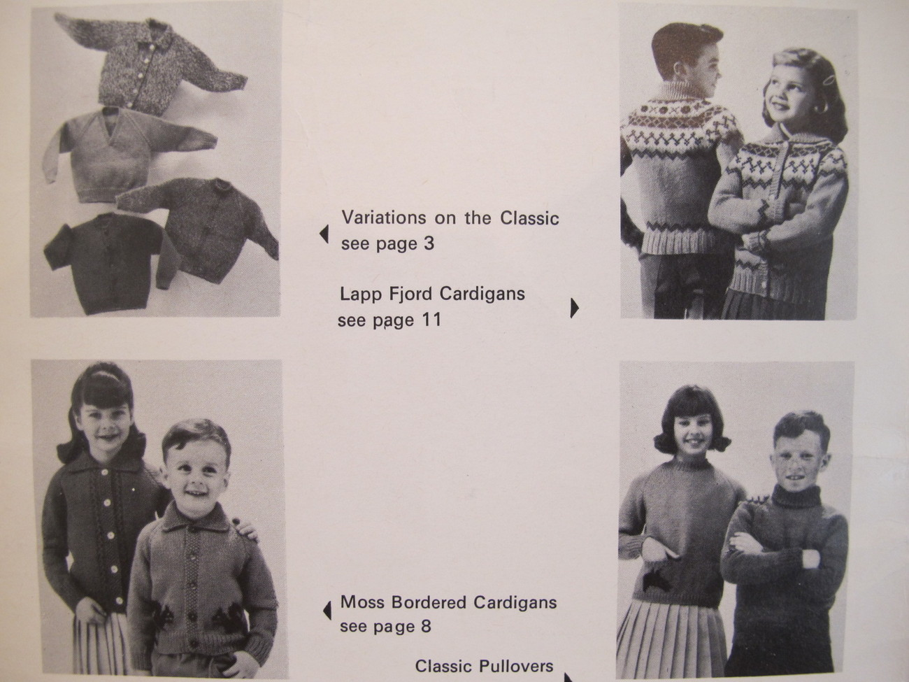 Vintage Patons Knitting Patterns Cardigans Sweaters Pullovers CHILDREN 2 - 12