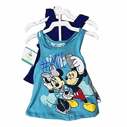 Disney Minnie Mouse 3 Pieces Clothing Set 12-24 Months (18 Months, Blue/Aqua)
