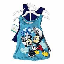 Disney Minnie Mouse 3 Pieces Clothing Set 12-24 Months (18 Months, Blue/Aqua) - $14.99