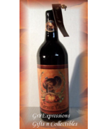 "Harvest Cheer"" Thanksgiving/Fall Wine Bottle Candle - $9.95"