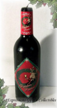 """Reindeer Reserve"""" Christmas/Holiday Wine Bottle Candle - $9.95"""