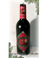 "Reindeer Reserve"" Christmas/Holiday Wine Bottle Candle - $9.95"