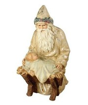 """Bethany Lowe Designs Christmas """"Father Christmas At The Manger"""" SN6816 - $47.99"""