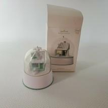 2012 Hallmark Keepsake Ornament Let It Snow House Magic Light Sound Motion  - $69.25