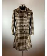 Vintage Galla Morra Magee Fabric Womens Coat M Peacoat Hand Women Tweed ... - $111.37