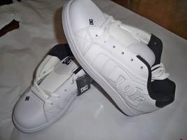 Men's Guys Dc Shoes Net White/Black Skateboarding Sb Shoes Sneakers New $70 - $58.97