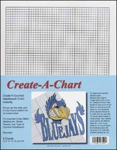 Create-A-Chart clear grid 6 graphs cross stitch needlepoint  - $14.40