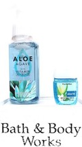 Bath and Body Works Aloe Agaue  Foaming Hand Soap & PocketBac - $21.29