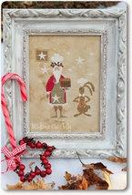 Santa Masterchef christmas holiday cross stitch chart Madame Chantilly - $10.80