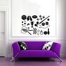 Wall Mural Vinyl Sticker Decal   GYM SHOP SPORT... - $29.78