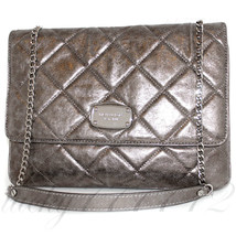 MICHAEL Michael Kors HAMILTON Flap Quilted Leather Clutch Shoulder Bag NWT - $145.53