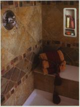 Recessed Shampoo - Soap Porcelain Stone Small image 3
