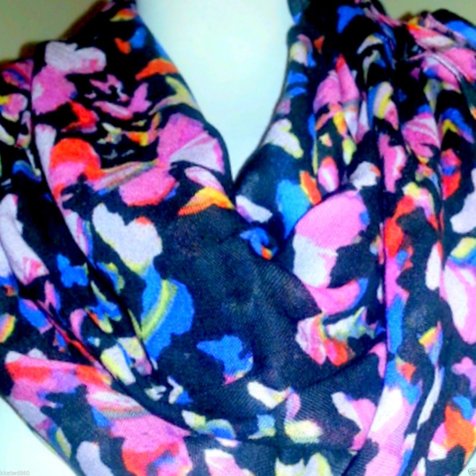 Stella & Dot UNION SQUARE SCARF MARIPOSA BUTTERFLY NIB Retail $59 plus tax New