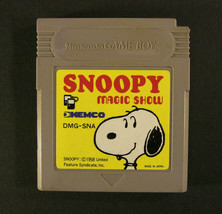 Snoopy Magic Show (Nintendo Game Boy GB, 1990) Japan Import - $7.53