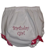 """Embroidered """"Birthday Girl"""" Fancy Pants Diaper Covers  - $15.00"""