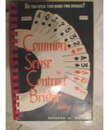 Common Sense in Contract Bridge Bidding - RARE - $4.99