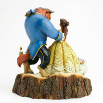 """7.75"""" Beauty - Beast Figurine Carved By Heart by Jim Shore Disney Traditions image 4"""