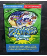 ZOOMBINIS Mountain Rescue PC Game from 2001 - $14.96