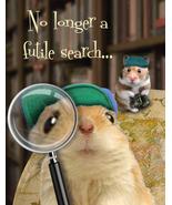 Funny Hamster Birthday Card: Homo Sapien Extraordinaire - $5.00