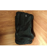 JL Childress Car Seat Travel Bag Ultimate Black Wheeled JLC2100BLK Nylon - $42.98