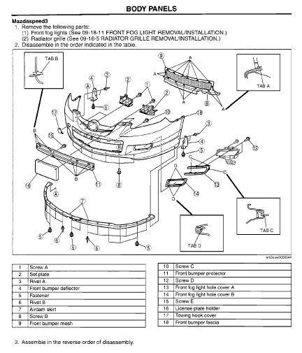 2009 mazda 3 service manual pdf