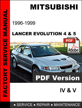 mitsubishi lancer evolution iv v 1996 1999 and 50 similar items rh bonanza com mitsubishi lancer evo 4 workshop manual mitsubishi lancer evolution x service manual